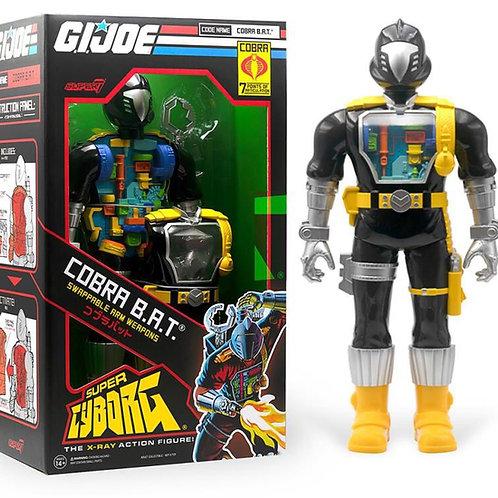 "Super7 GIJOE Cobra B.A.T. Cyborg 12"""
