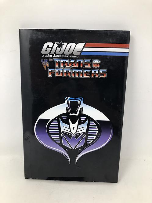 Gijoe Vs Transformers Hard Cover Comic