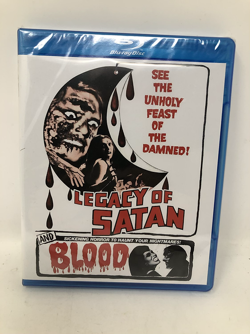 Legacy of Satan & Blood Sealed Blu Ray Code Red