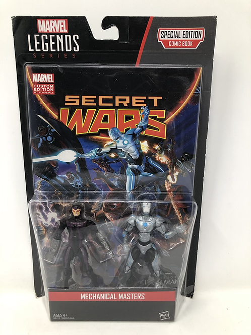 Secret Wars Mechanical Masters Comic Pack
