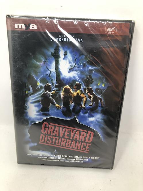 Graveyard Disturbance DVD Sealed