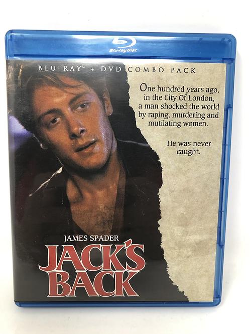 Jack's Back Blu Ray and DVD James Spader
