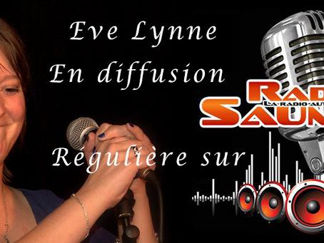 Eve Lynne sur Radio Saumur