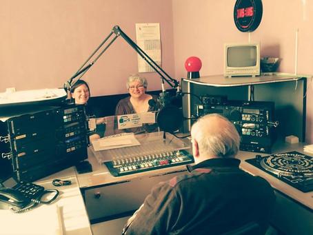 En interview sur les ondes de Radio Columbia 106.9