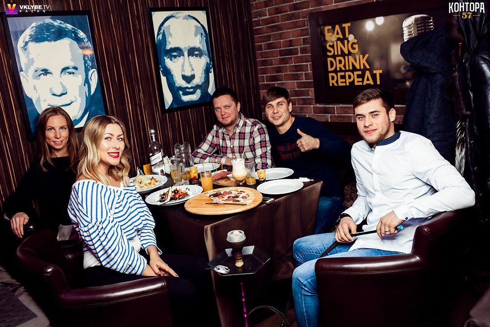 Лучший караоке клуб – Контора 57 – Казань