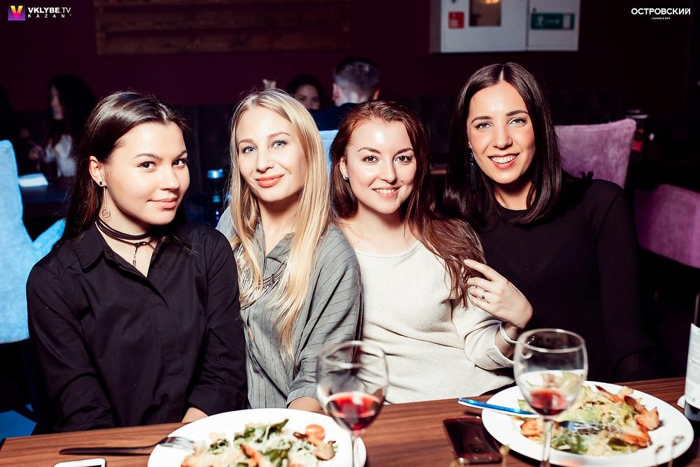 Кафе с сытными обедами в Казани