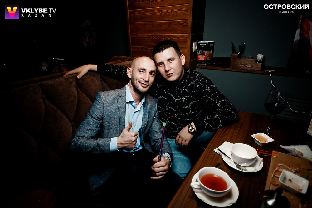 Мужское кафе в Казани