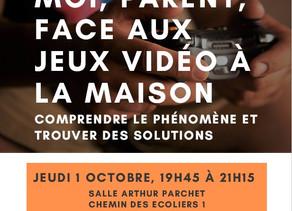 APE Vouvry - conférence 01.10.2020