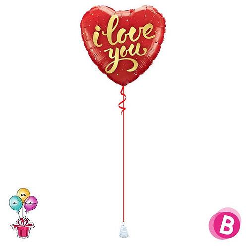 Ballon I Love You Or