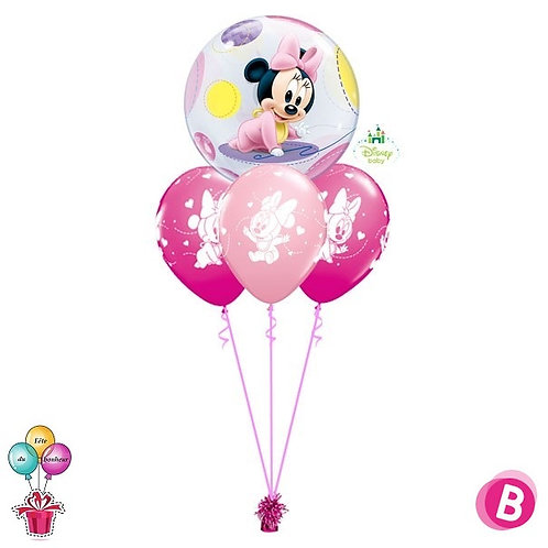 Bouquet Layer Bubble baby Minnie