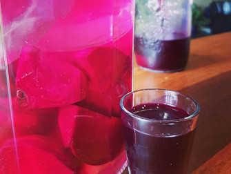 Ginger Beet Kvass