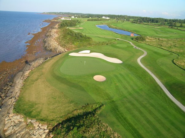 Have some fun at the Northumberland Links Golf Course