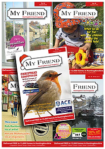 My Friend Huntingdon local magazine, business directory, what's on in Huntingdon