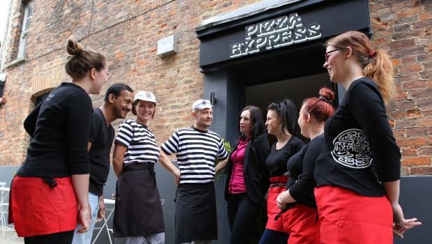 Huntingdon Pizza Express Branches Out With New Look