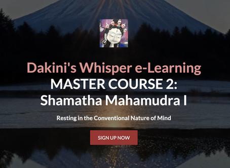 MASTER COURSE 2: Mahamudra Shamatha I