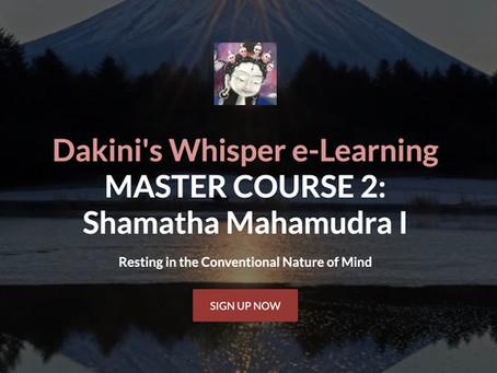 MASTER COURSE 2 - Mahamudra Shamatha I