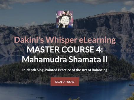 MASTER COURSE 4 - Mahamudra Shamatha II