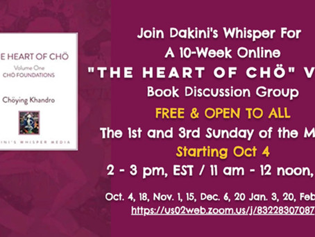A 10-Week Online Book Discussion Group
