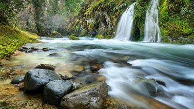 Salmon-Creek-Falls-Willamette-National-F