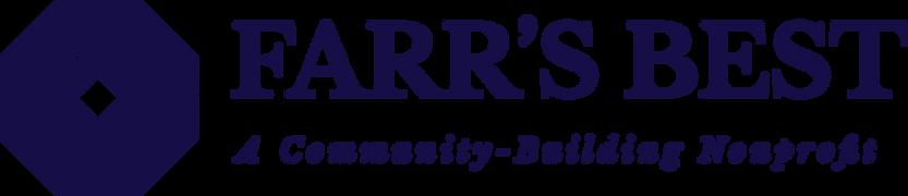Farr's Best Nonprofit Blue logo horizont