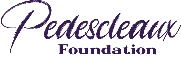 Pedescleaux Foundation Logo Purple v2.2.