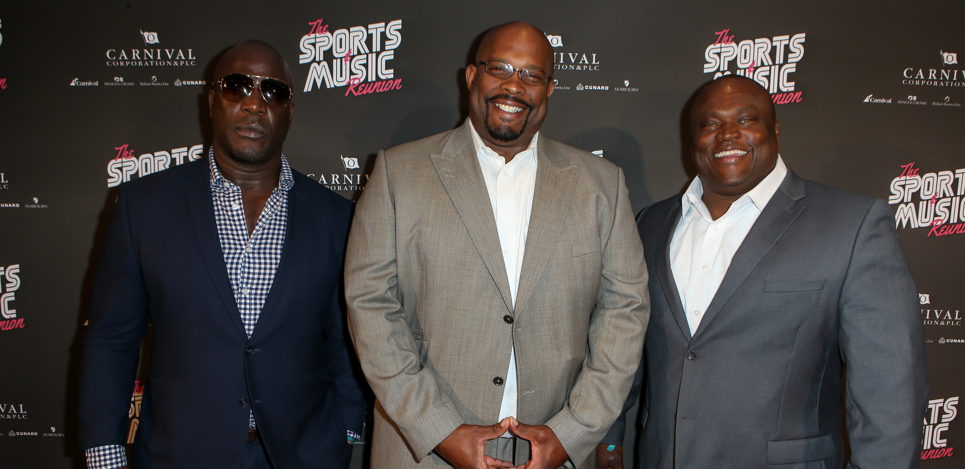 AaronEmmanuel, Tyrone Rodgers, and Leroy Holt - Sports & Music Reuion