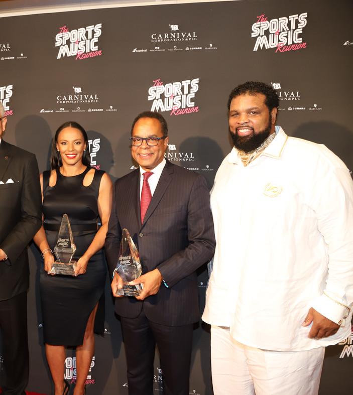 Sports & Music Reunion Hosts & Awardees