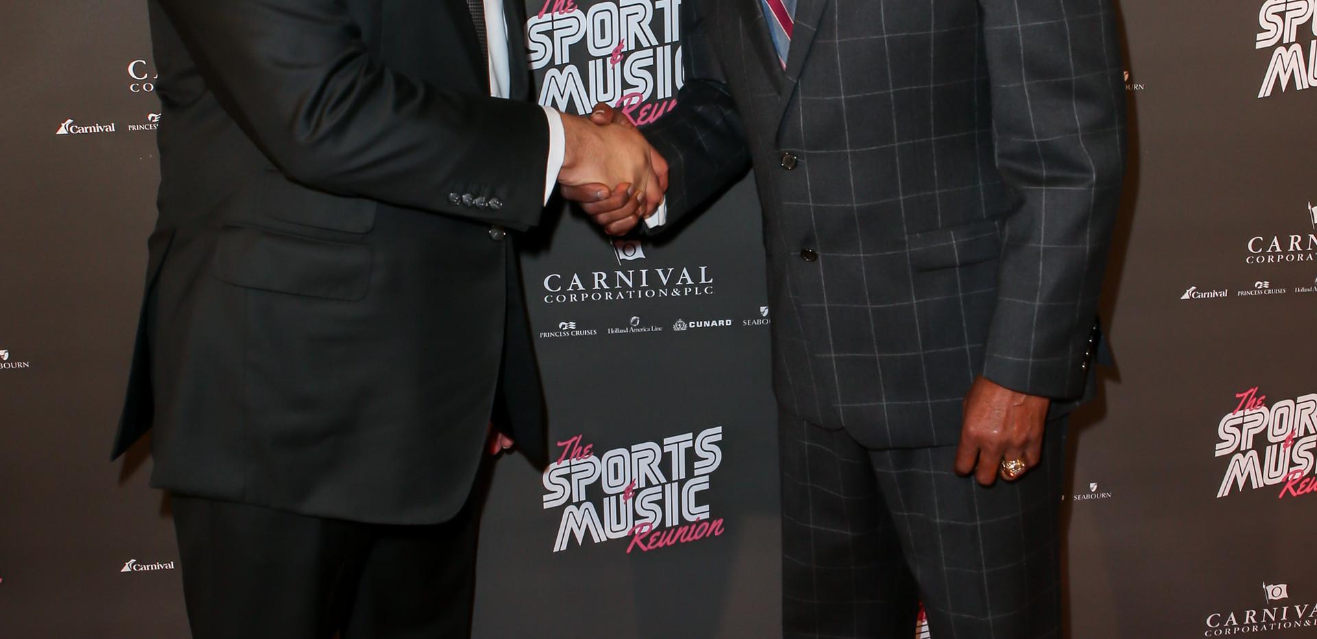 Arnold Donald & Jim Hill - Sports & Music Reunion