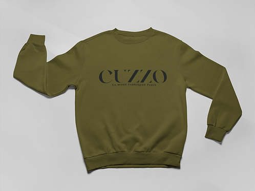 Cuzzo® Lux Sweatshirt (Military Green)