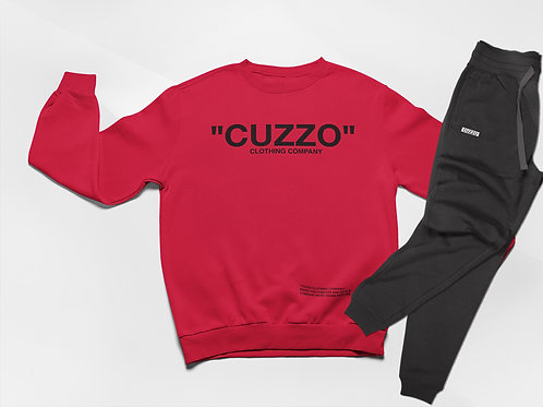 Cuzzo® Quote ME Jogger Set (Red-Black)