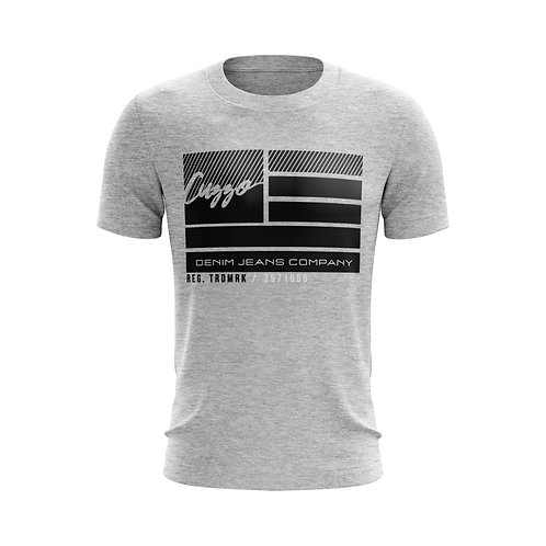 Cuzzo® Nation Flag Tee (Heather Grey)