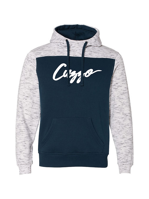 Cuzzo® EXCLUSIVE Takeover Hoodie (Navy-Heather)