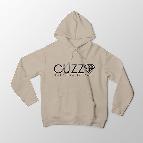 Cuzzo® Diamond Cut Hoodie (Sand-Black)