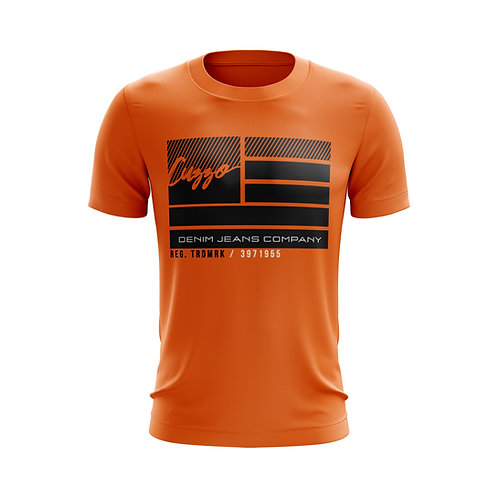 Cuzzo® Nation Flag Tee (Orange)