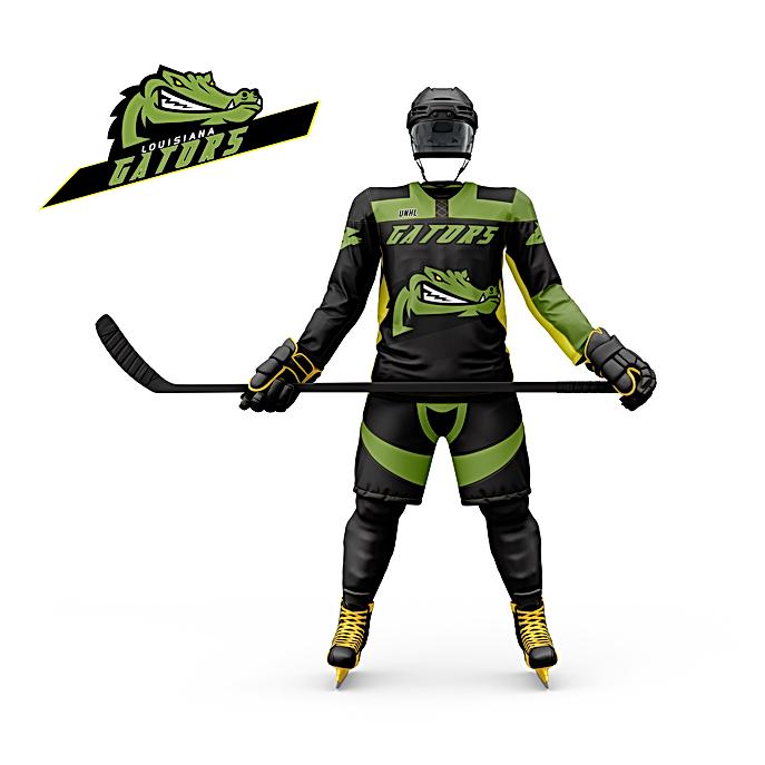 Louisiana Hockey jersey