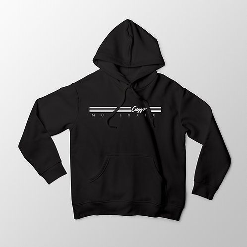 Cuzzo® Quad Hoodie (Black-White)