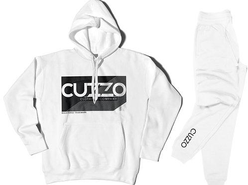 Cuzzo® Astro Jogger Set (White)