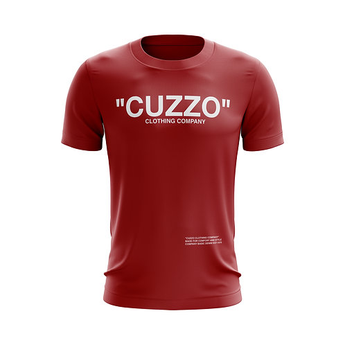 Cuzzo® Quote ME Tee (Red-White)