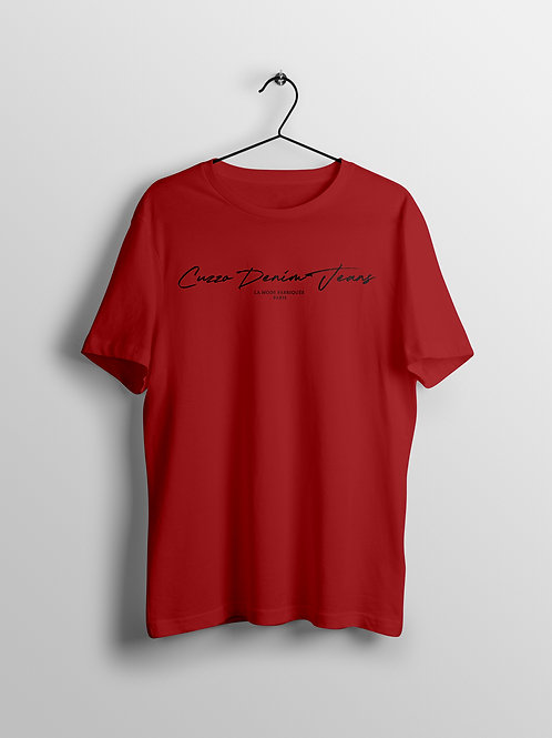 Cuzzo® Scripted (Red-Black)