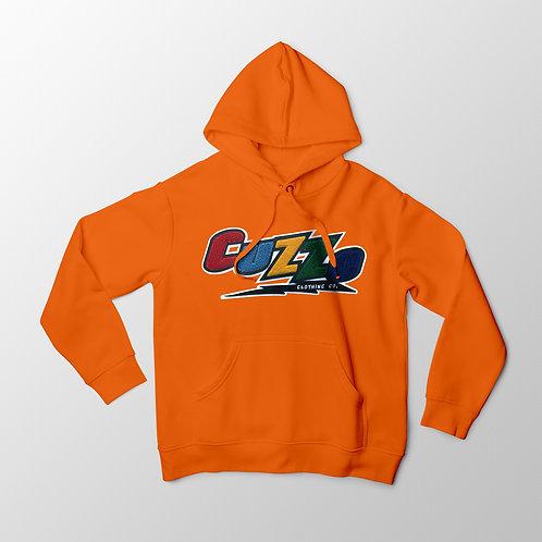 Cuzzo® Arc Hoodie (Orange)
