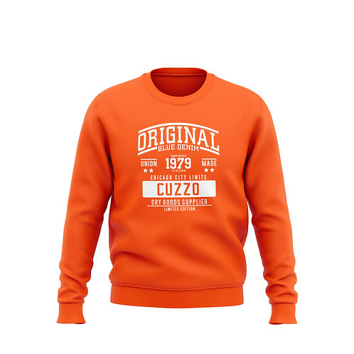 City-Limits Crewneck Sweatshirt (Orange)