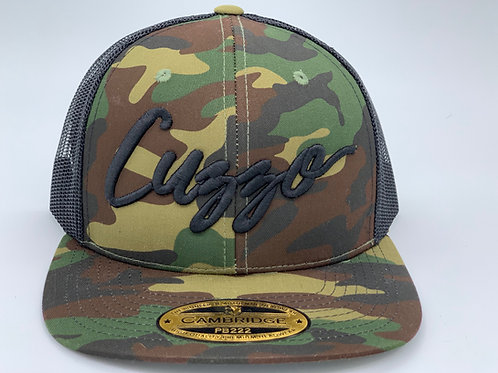 EXCLUSIVE Cuzzo Signature Camo Snapback (Camo-Blk)