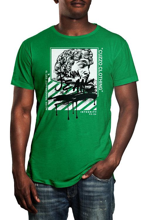 Cuzzo® Brandwashed tee (Green)