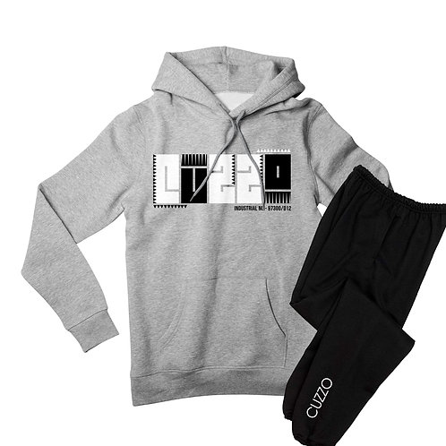Cuzzo® BHM Jogger Set (Grey/Black)