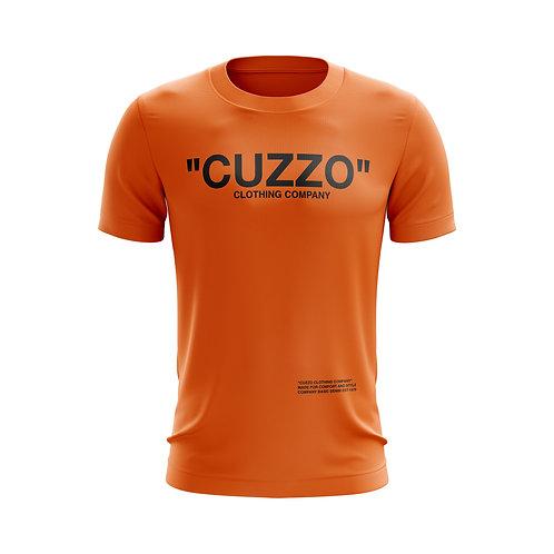 Cuzzo® Quote ME Tee (Orange-Black)