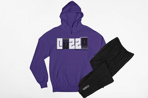 Cuzzo® BHM Jogger Set (Purple/Black)