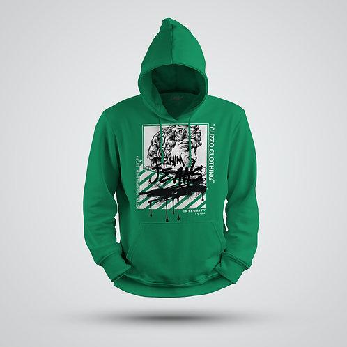 Cuzzo® Brandwashed Hoodie (Green)