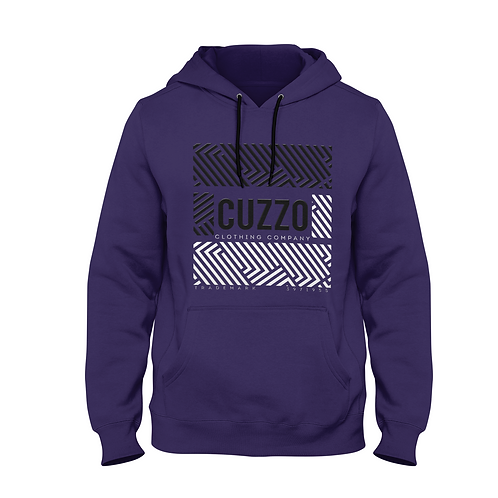 Cuzzo Culture Deep Purple Hoodie