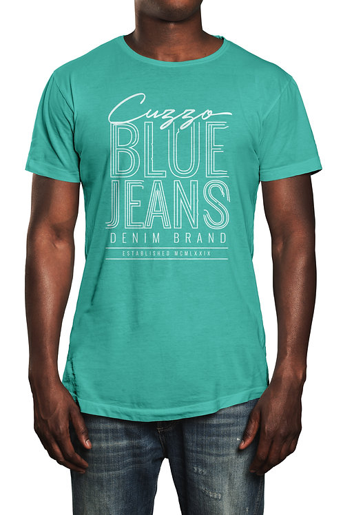 Cuzzo® Blue Jeans tee (Mint-white)