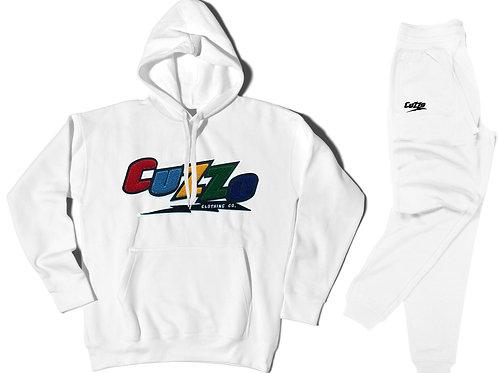 Cuzzo® Arc Jogger Set (White)